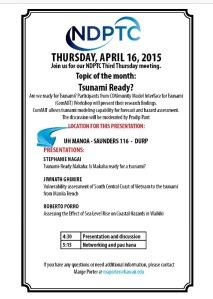 NDPTC 3rd Thursday Flyer
